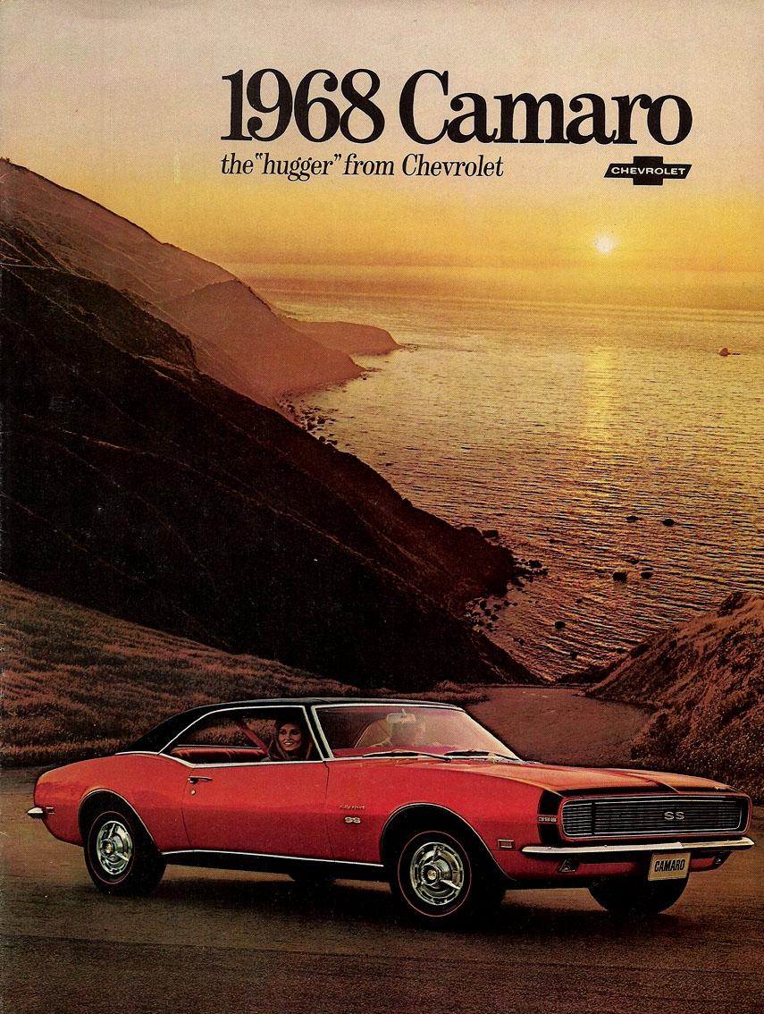1968 Camaro OEM Brochure Cover