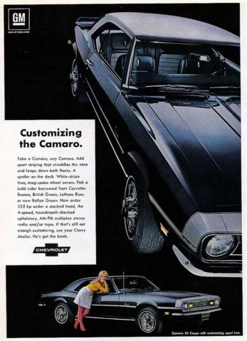 Customizing the 1968 Camaro