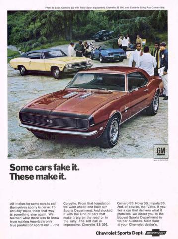 Some Cars Fake it. Camaro Makes It.