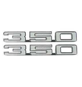 1968 Camaro Reproduction 350 Fender Emblems