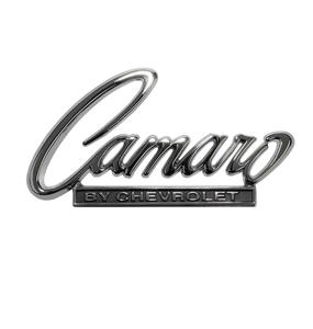 1968-1969 Camaro By Chevrolet Header Panel / Trunk Emblem