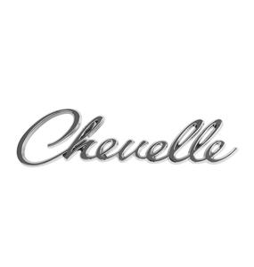 1968 Chevelle - 1969 Chevelle Header Panel Emblem