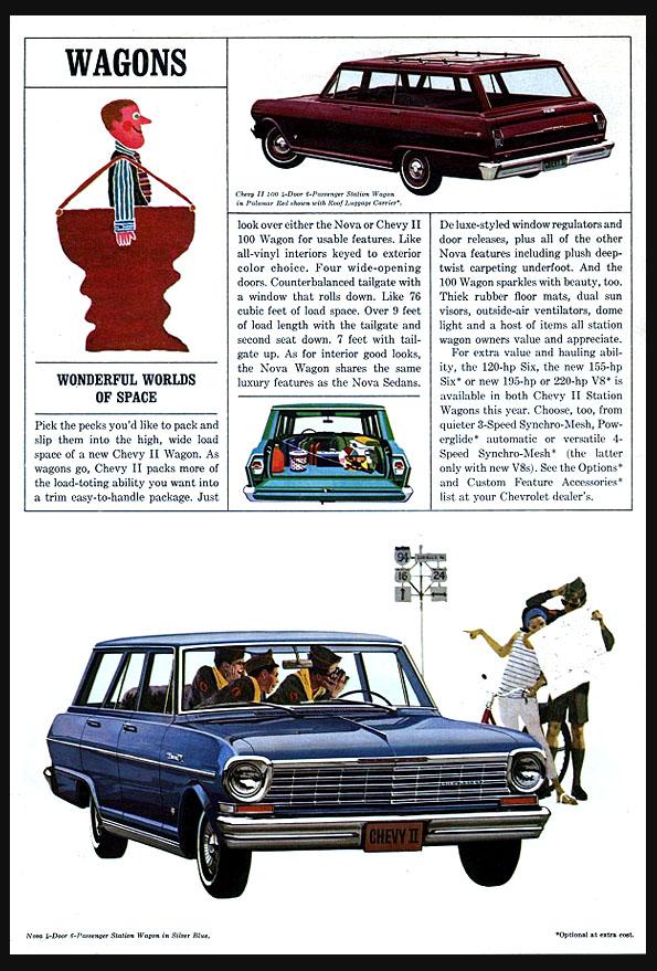 1964 Chevy II Wagon OEM Brochure