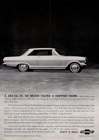 1964 Chevy II Nova V8 Introduction