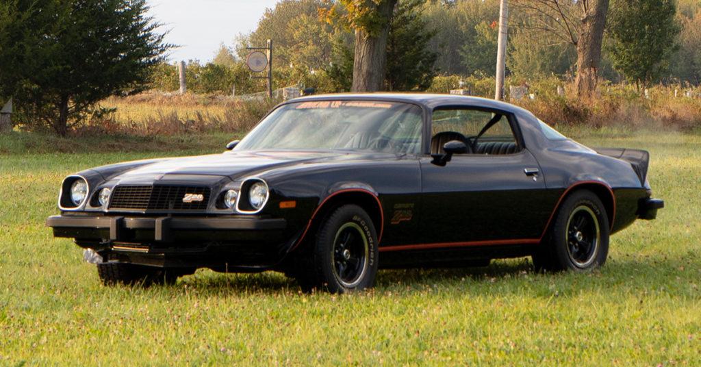 77-Camaro-Black
