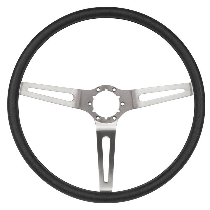 black comfortgrip sport steering wheel