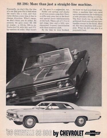 1966 Chevelle Ad