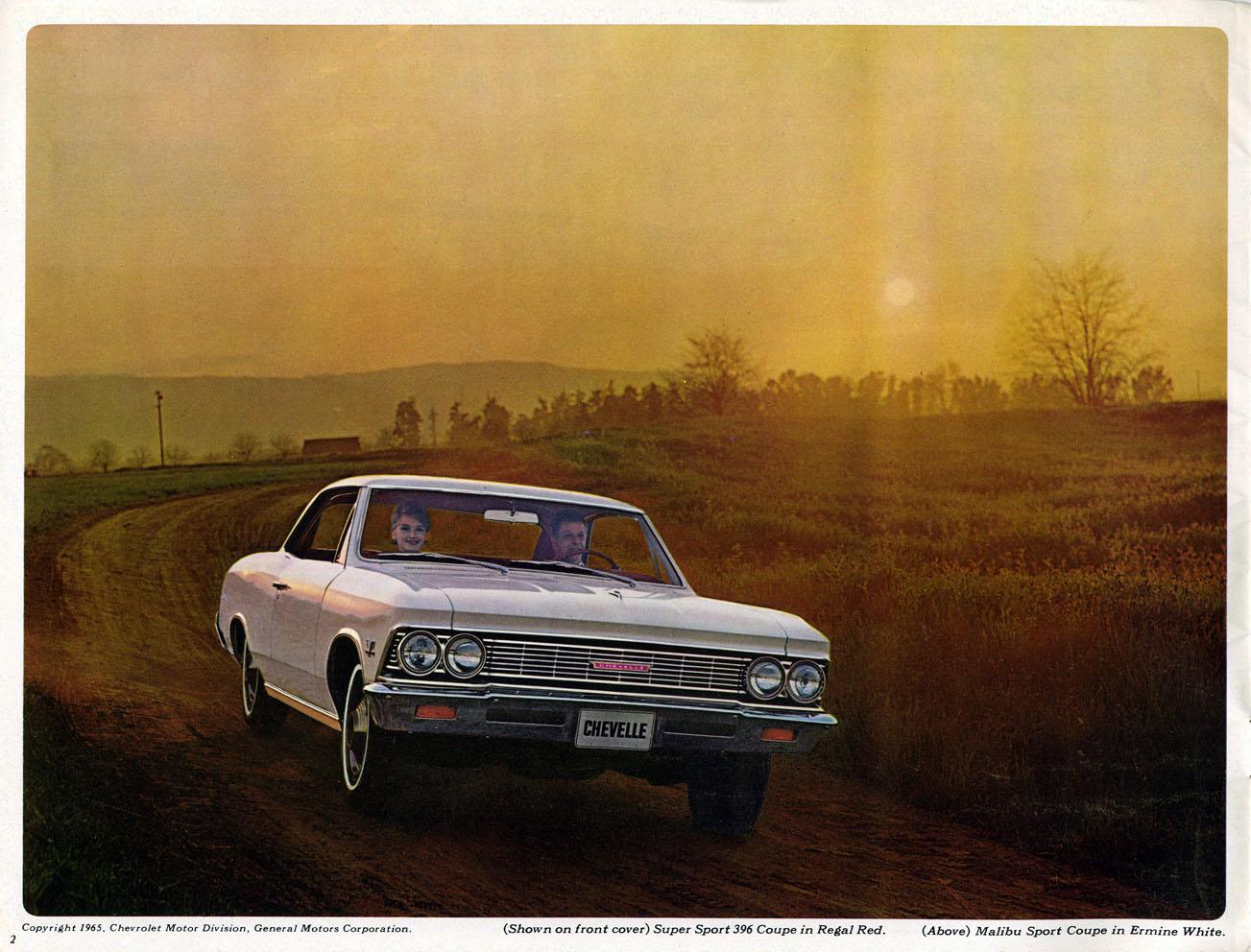 1966 Chevelle OEM Brochure