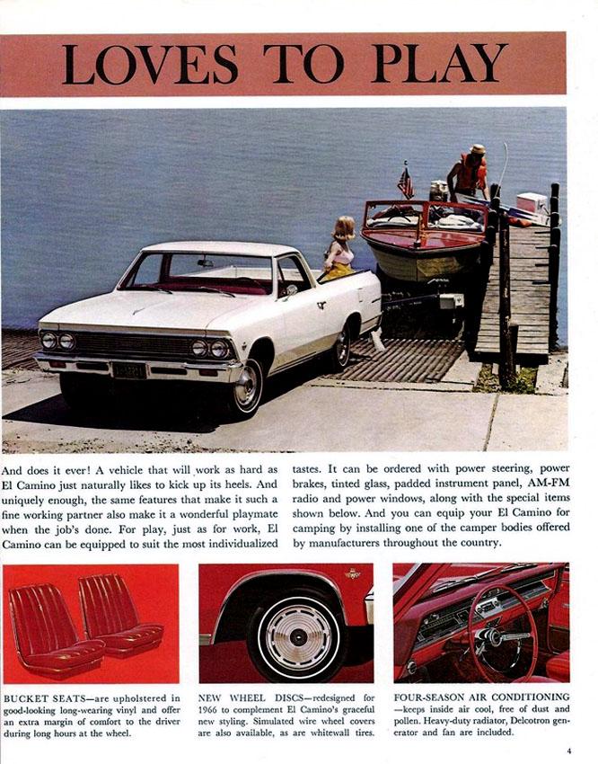 1966 El Camino OEM Brochure