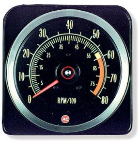 1969 Camaro Tachometer 6000 X 8000
