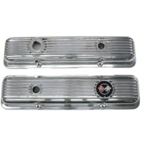 finned aluminum valve covers