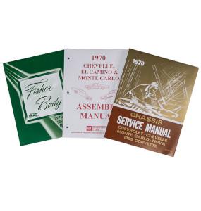 1970 Chevelle Factory Shop Manual Set