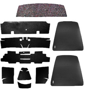 1969 Camaro Coupe Super Interior Kit, Standard Black