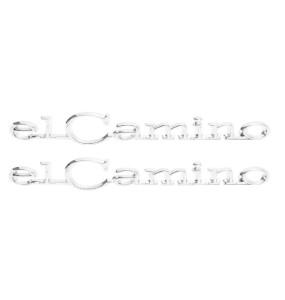 1968-1969 El Camino Quarter Panel Emblems