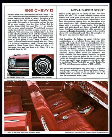 1965 Nova