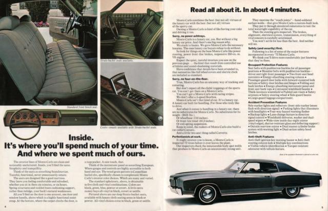 1972 Monte Carlo Brochure