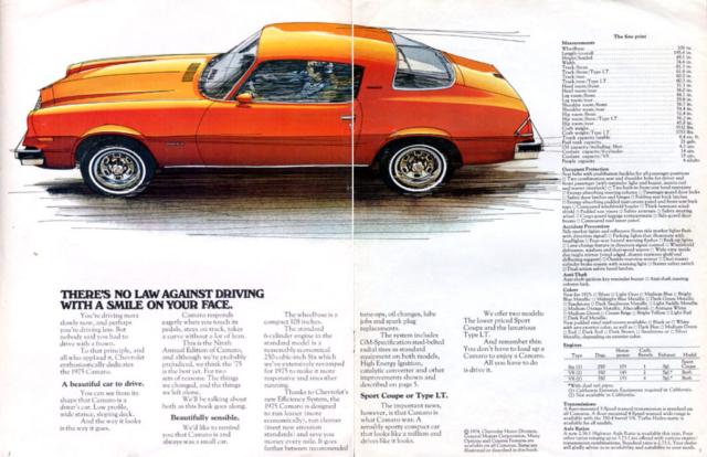 1975 Camaro OEM Brochure (2)