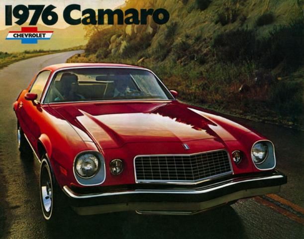 1976 Camaro OEM Brochure (1)