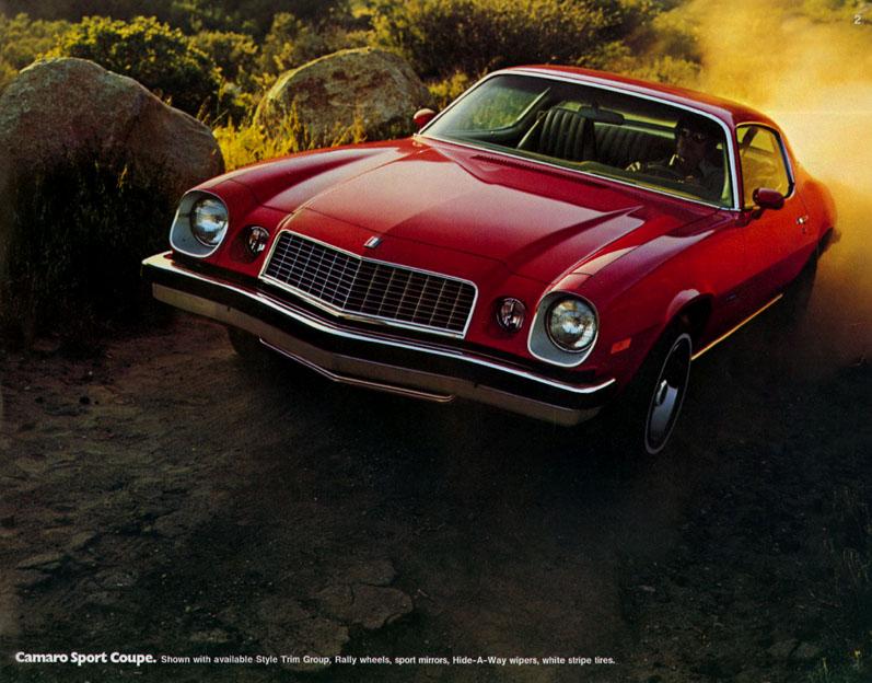 1976 Camaro OEM Brochure (2)