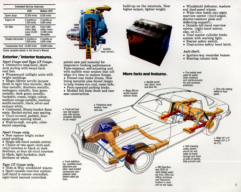 1976 Camaro OEM Brochure (7)
