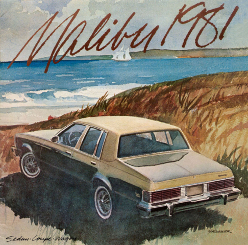 1981 Malibu OEM Brochure (1)