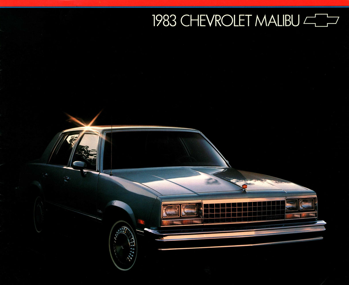 1983 Malibu OEM Brochure (1)