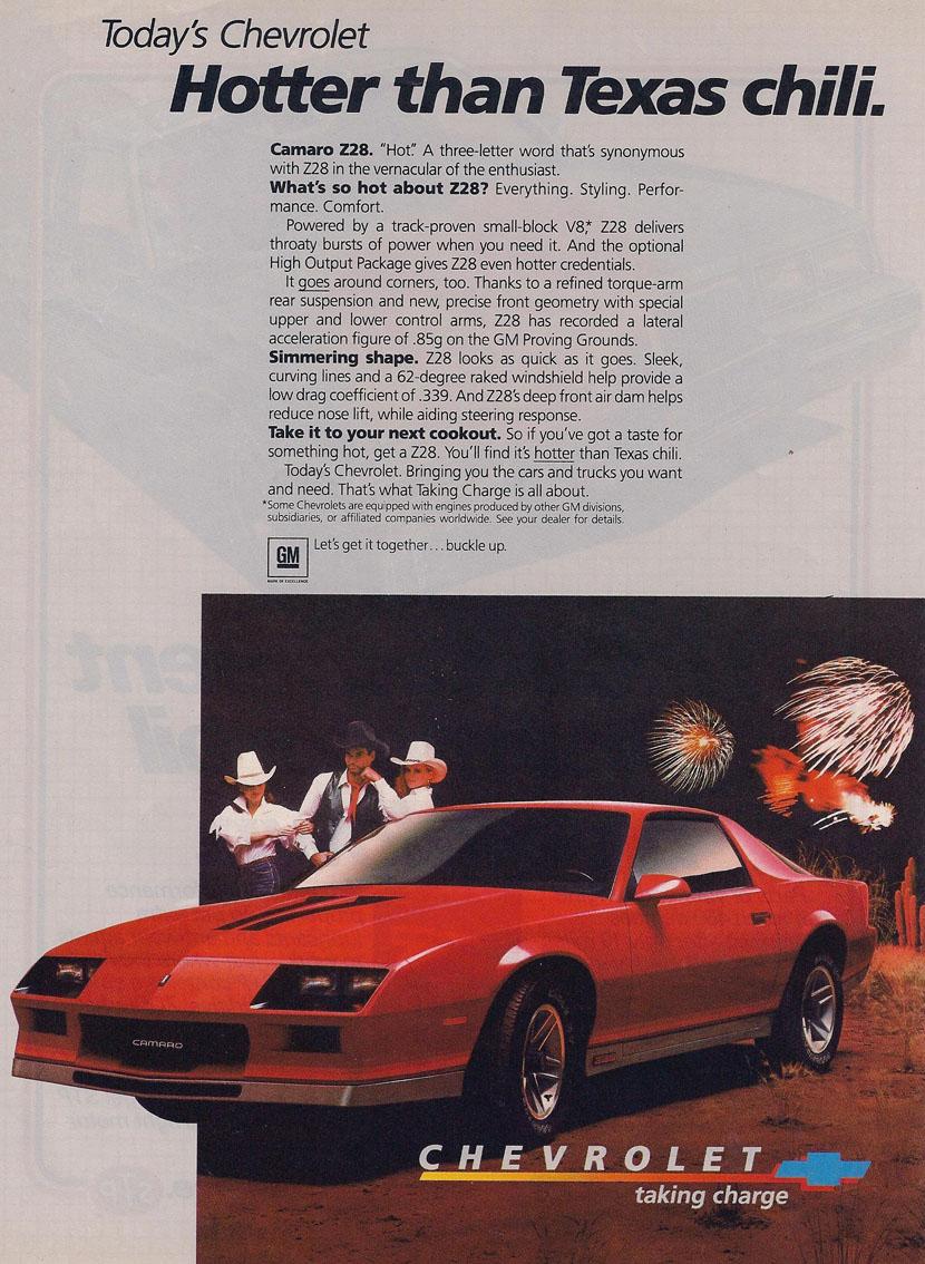 1984 Camaro OEM Dealer Ad (1)