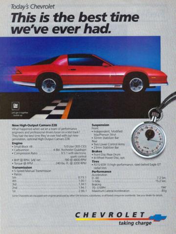 1984 Camaro OEM Dealer Ad (2)