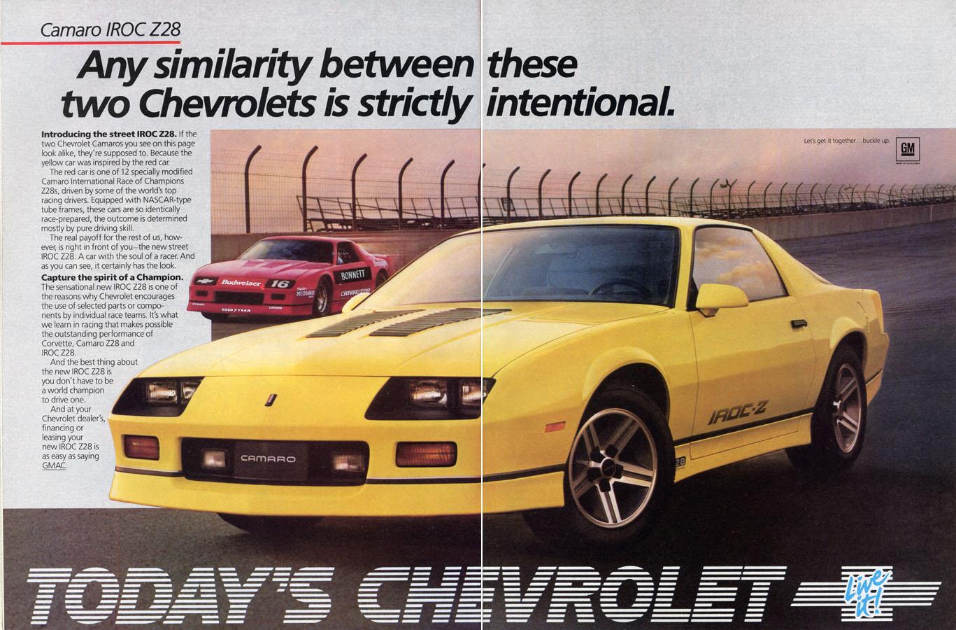 1984 Camaro OEM Dealer Ad (3)