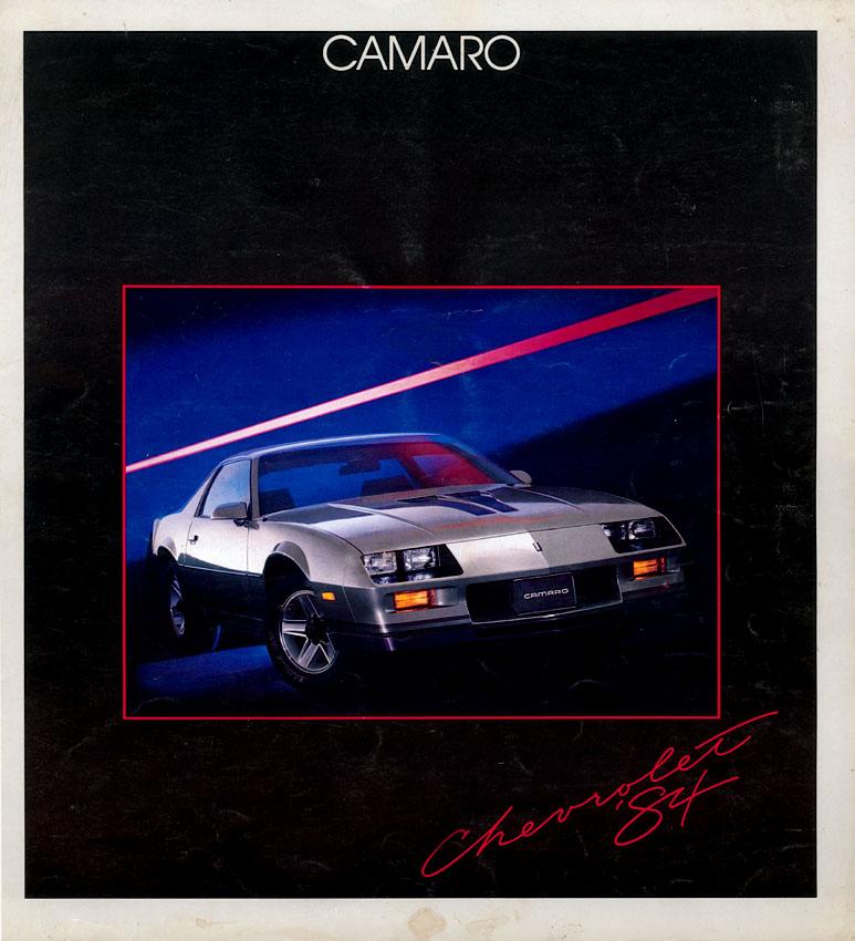1983 Camaro OEM Brochure (1)