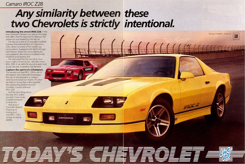1985 Camaro Dealer Ad (1)