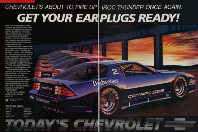1985 Camaro Dealer Ad (2)