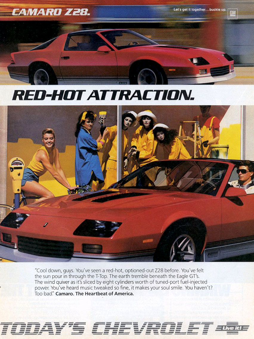 1986 Camaro Dealer Ad (1)