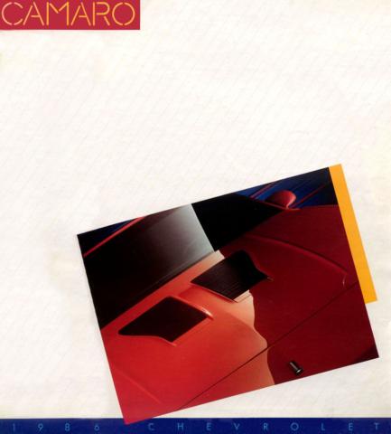 1986 Camaro OEM Brochure (1)