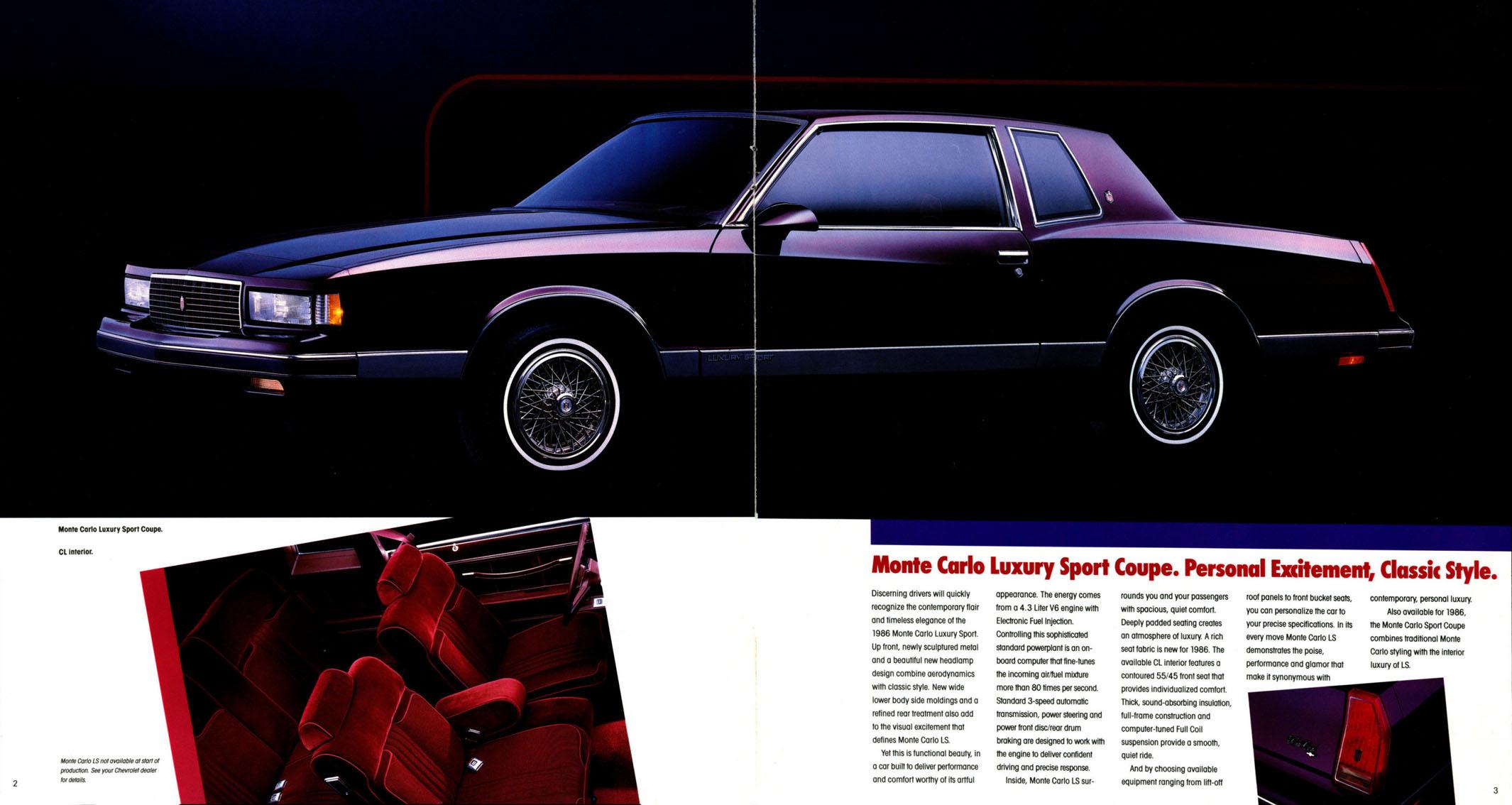 1986 Monte Carlo OEM Brochure (2)