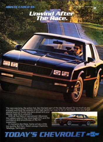 1986 Monte Carlo SS OEM Brochure