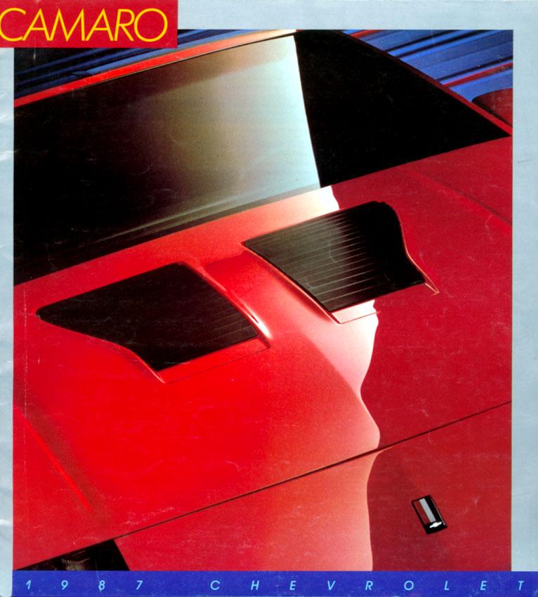 1987 Camaro OEM Brochure (1)