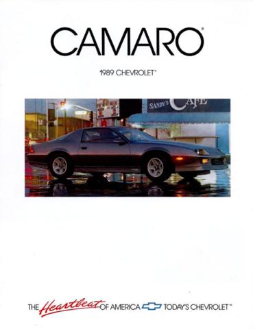 1989 Camaro OEM Brochure (1)