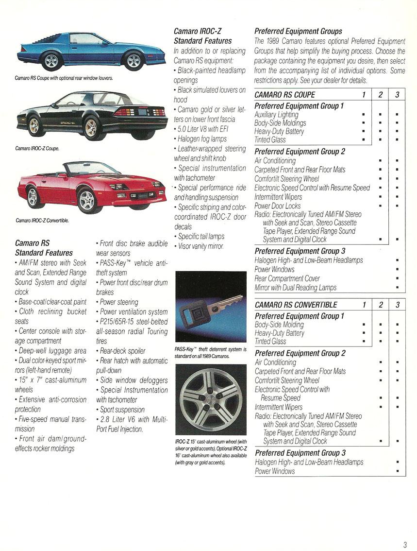 1989 Camaro OEM Brochure (4)