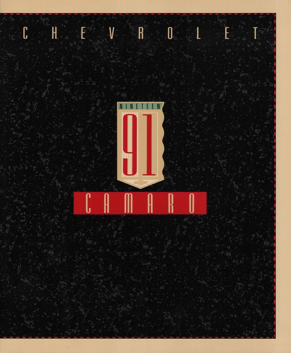 1991 Camaro OEM Brochure (1)