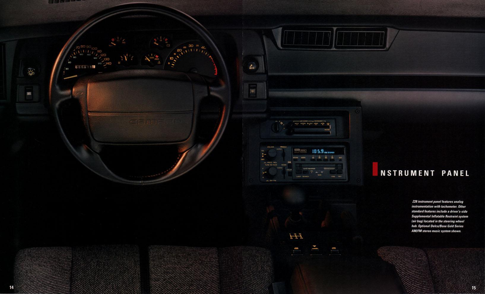 1991 Camaro OEM Brochure (11)