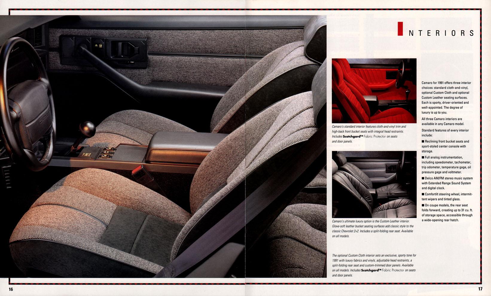 1991 Camaro OEM Brochure (12)
