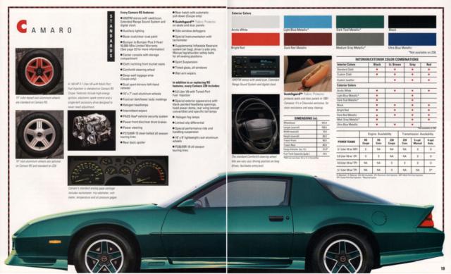1991 Camaro OEM Brochure (13)