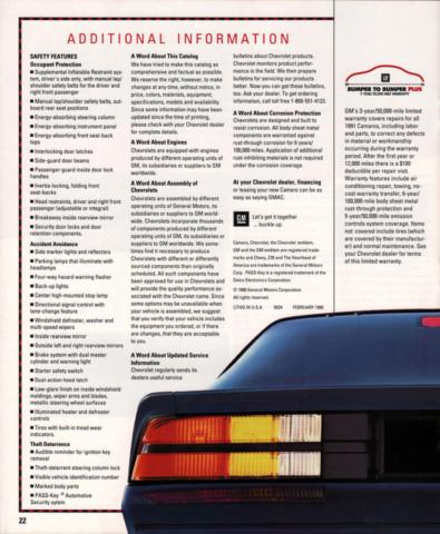 1991 Camaro OEM Brochure (15)
