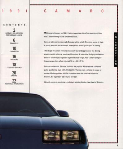 1991 Camaro OEM Brochure (3)