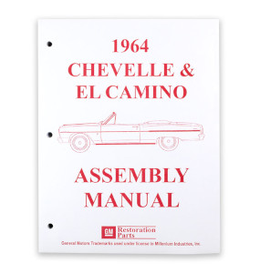 1964 Chevelle 1964 El Camino Factory Assembly Manual