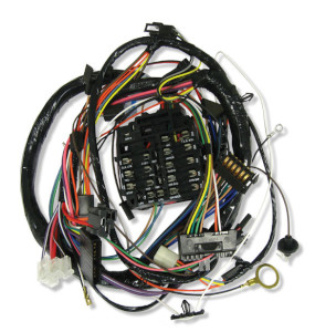 1969 Chevelle Dash Harness, Warning Lights & Air Conditioning