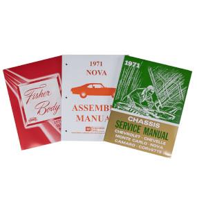 1971 Nova Shop Manual Set