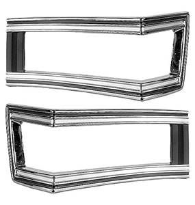 1968 Chevelle Tail Lamp Bezels
