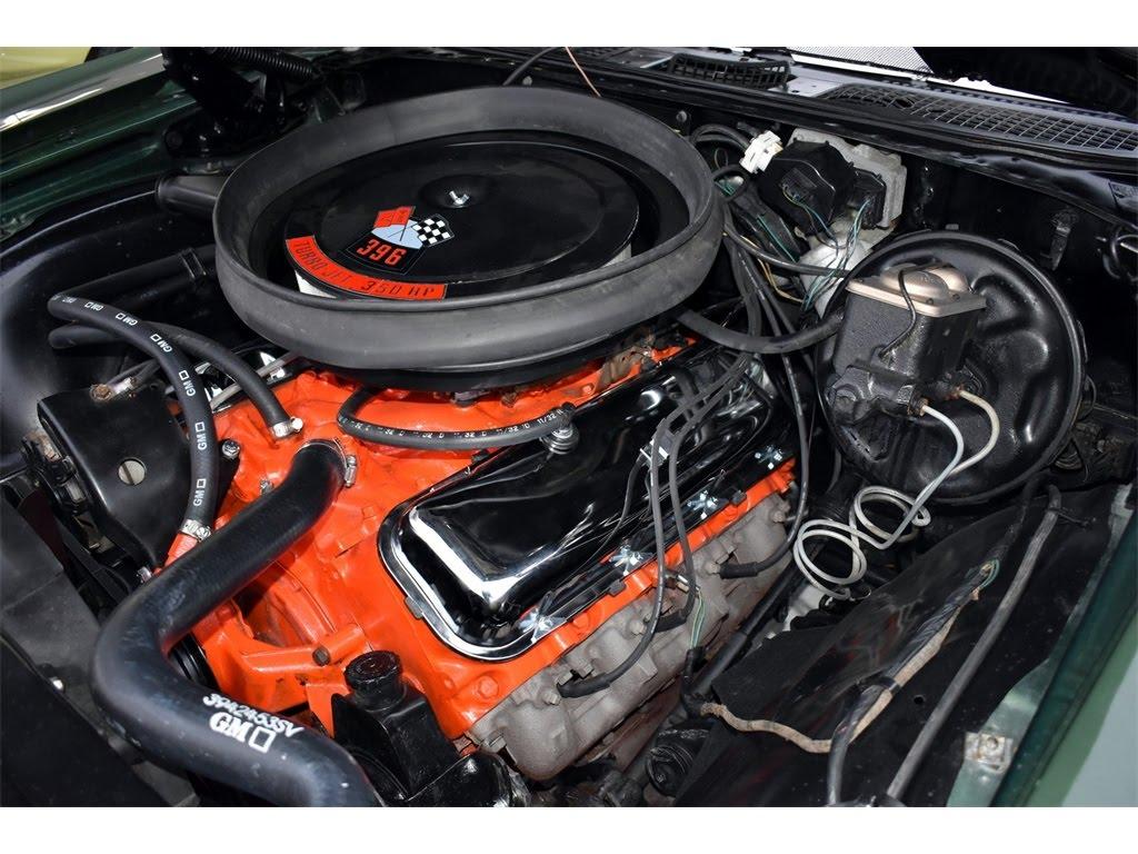 1970 Chevelle Engine Compartment